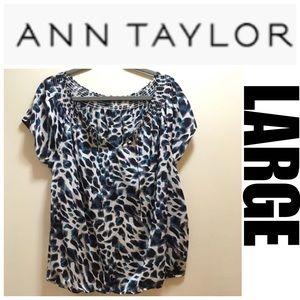 Sz L Ann Taylor Top